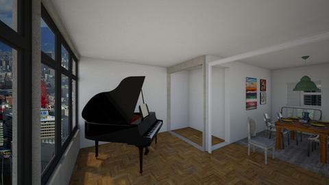 Unidad - Living room - by jupitervasconcelos