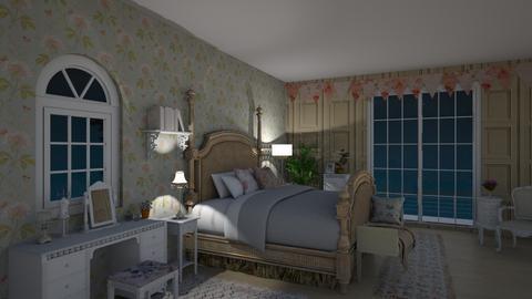 Shabby Chique - Bedroom - by evalackovic11