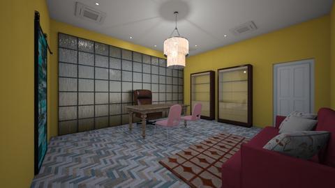 benzinho festa - Living room - by Gisele Ferreira Buenos