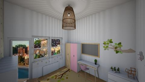 Eco kids bedroom - Retro - Bedroom - by 06966147