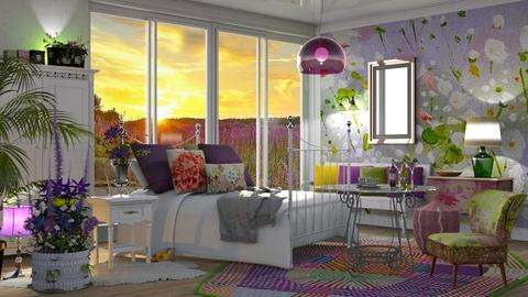 DR57Flowers in the room - by Dragana Randjelovic