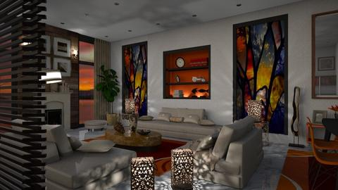 Modern Triclinium - Living room - by bigmama14