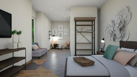 Light Human Hotel Room - by _xandra_