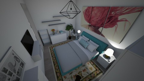 my room - by cathycatarina