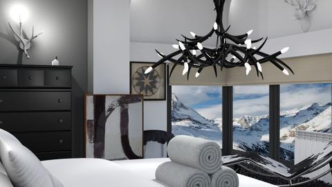 Winter Bedroom - by ritsa