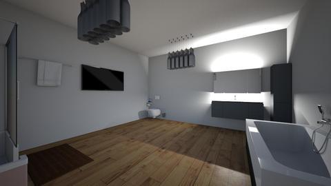 casa - Bathroom - by nathanaelganador04