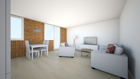 juustyna - Minimal - Living room - by juustyna