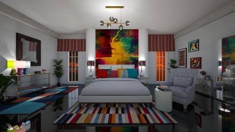 mural rainbow - by faar70