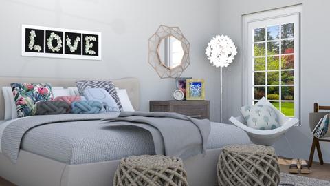 sleeping beauty - Bedroom - by areejkwaik