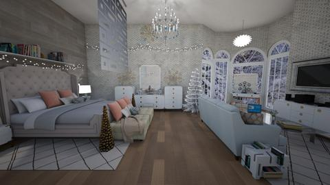 melrose inspired winter  - Bedroom - by martinal2