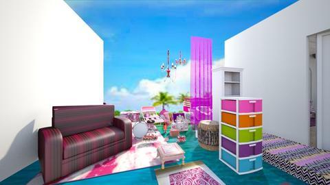 pinkish - Living room - by jdenae3