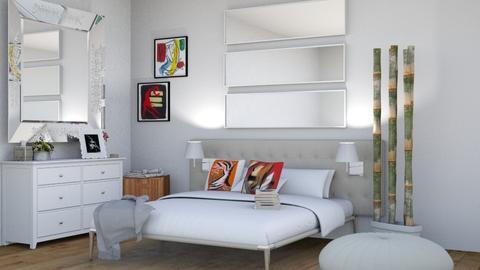 white  - Bedroom - by kashumovagylnaz