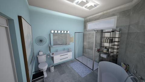 winter bathroom - Bathroom - by gumball13