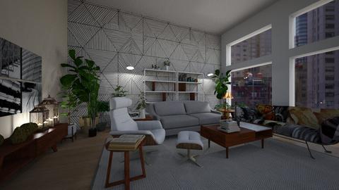 Remix GeoWall - Modern - Living room - by Daisy de Arias