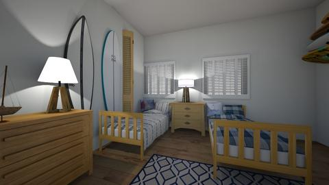surfs up - Bedroom - by hillygabe