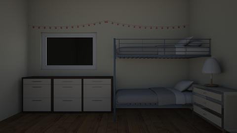 kids bedroom - Feminine - Bedroom - by Gennevieve Moya