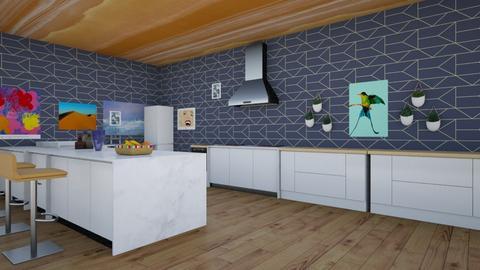 Cocina moderna - Kitchen - by gonzilla303
