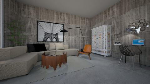 living room1 - by K_Lilla