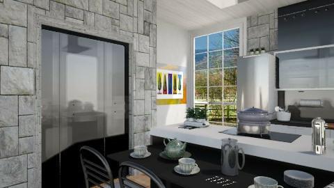 Modern - Modern - Kitchen - by milyca8