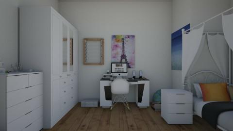 Dream room  - Glamour - Bedroom - by Anaherawalkerxoxo
