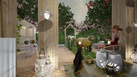 oveja2 - Garden - by ana111