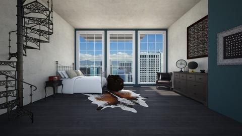 Dark  - Living room - by TasiaClarke