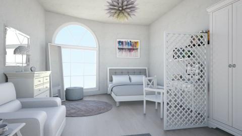 Comfortable bedroom - Minimal - Bedroom - by voloshina99