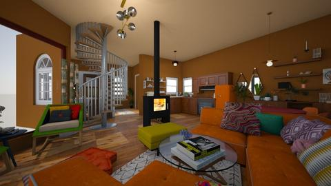 Crooked hause  - Eclectic - by Moriia
