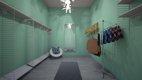 Rubis bedroom - Modern - Bedroom - by sanchee23
