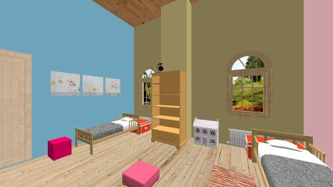kids bedroom - Classic - Kids room - by chiara passerini