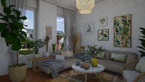 Living room - Rustic - Living room - by Annathea