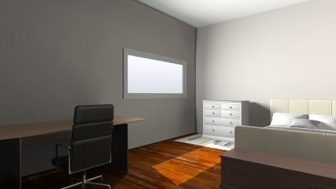 Large office andguest bed - Minimal - Office - by imjillsherman