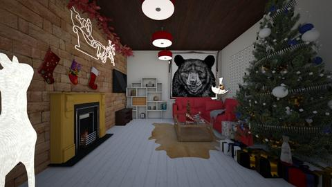 Santa Stop Here - Living room - by Okurrrr