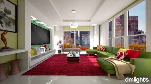 Apartamento - Living room - by Roberta Bela