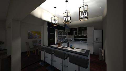finaldesign kitchen3 - Modern - Kitchen - by Stephanie Felix