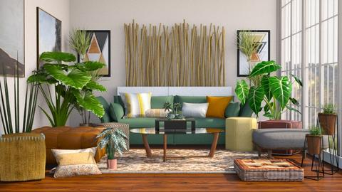 Bohemian Living - Global - Living room - by millerfam