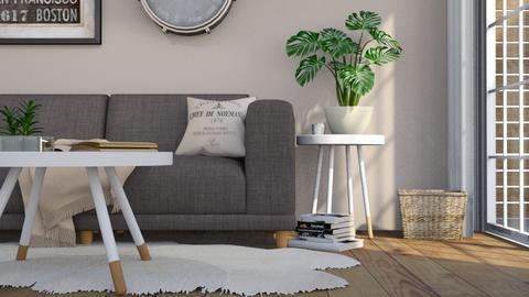 Warm Living Room - Living room - by TaeBlossom