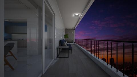 balcony - Minimal - Garden - by raissasevero
