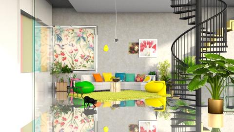 Tropicana - Country - Living room - by elephant in savanna