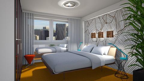 Modern City Bedroom - Modern - Bedroom - by 3rdfloor