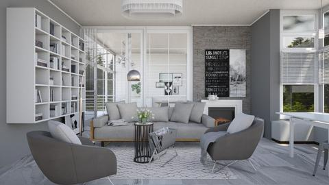 Grey Living - by dianemonton