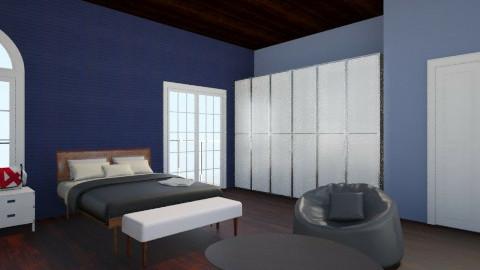 bedroom - Modern - Bedroom - by julie55p