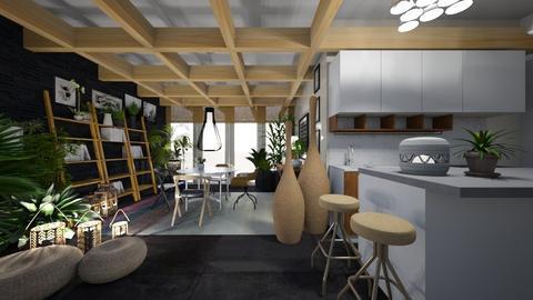 urban - Kitchen - by ana111