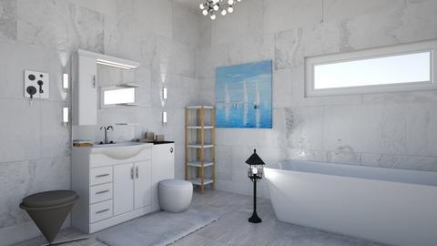 Nautical_Bathroom - Bathroom - by RaeCam