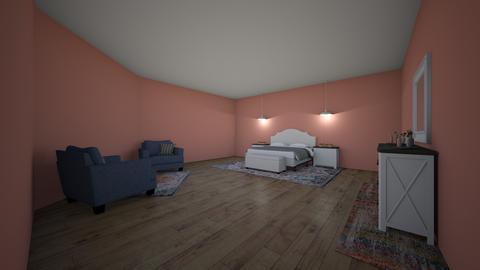 Boho style - Bedroom - by EllieKFairbanks