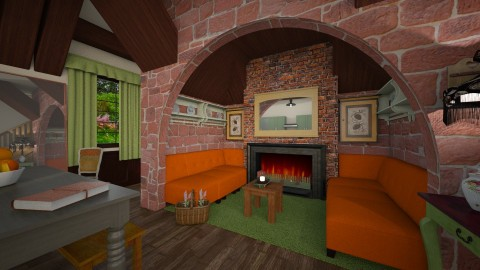 ingalnook - Country - Living room - by donella