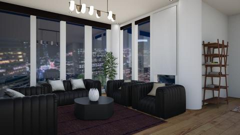 BLACK - Living room - by Caye