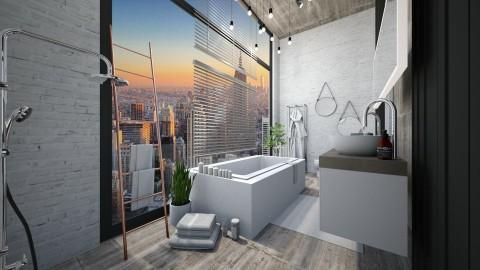 loft bathroom - Modern - Bathroom - by esmeegroothuizen