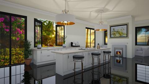 Kimberly Kardashian - Eclectic - Kitchen - by Elenn