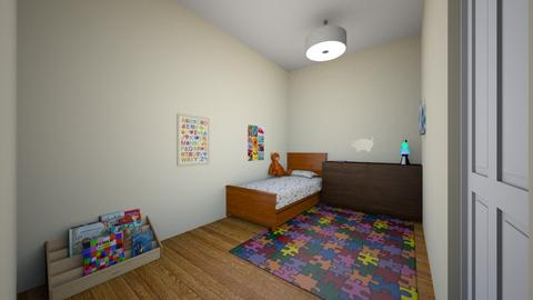 Kid room 01 - Classic - Kids room - by muleok